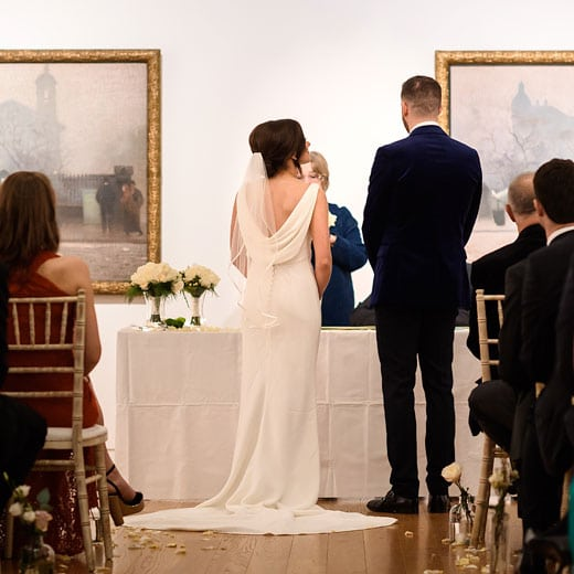 Manchester Art Gallery newly Weds